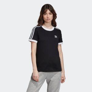 Adidas 3 stripe top